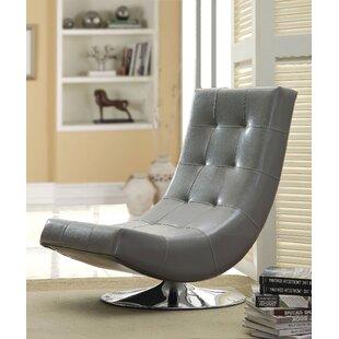 Reviews Compas Lounge Chair by Orren Ellis
