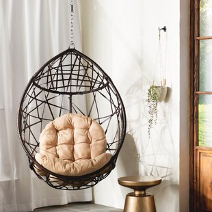 Mistana Destiny Tear Drop Swing Chair with Stand