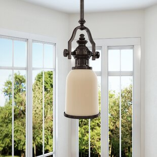 Red Barrel Studio Susan 1-Light Bell Pendant