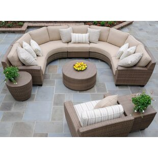 Saddleback 4 Pieces Sectional Set with Cushions