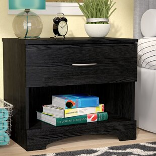 Shreya 1 Drawer Nightstand by Andover Mills Great price