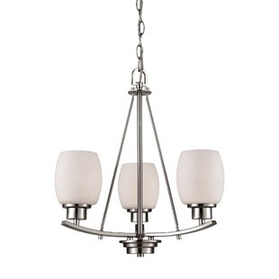 Adalyn 3-Light Shaded Chandelier