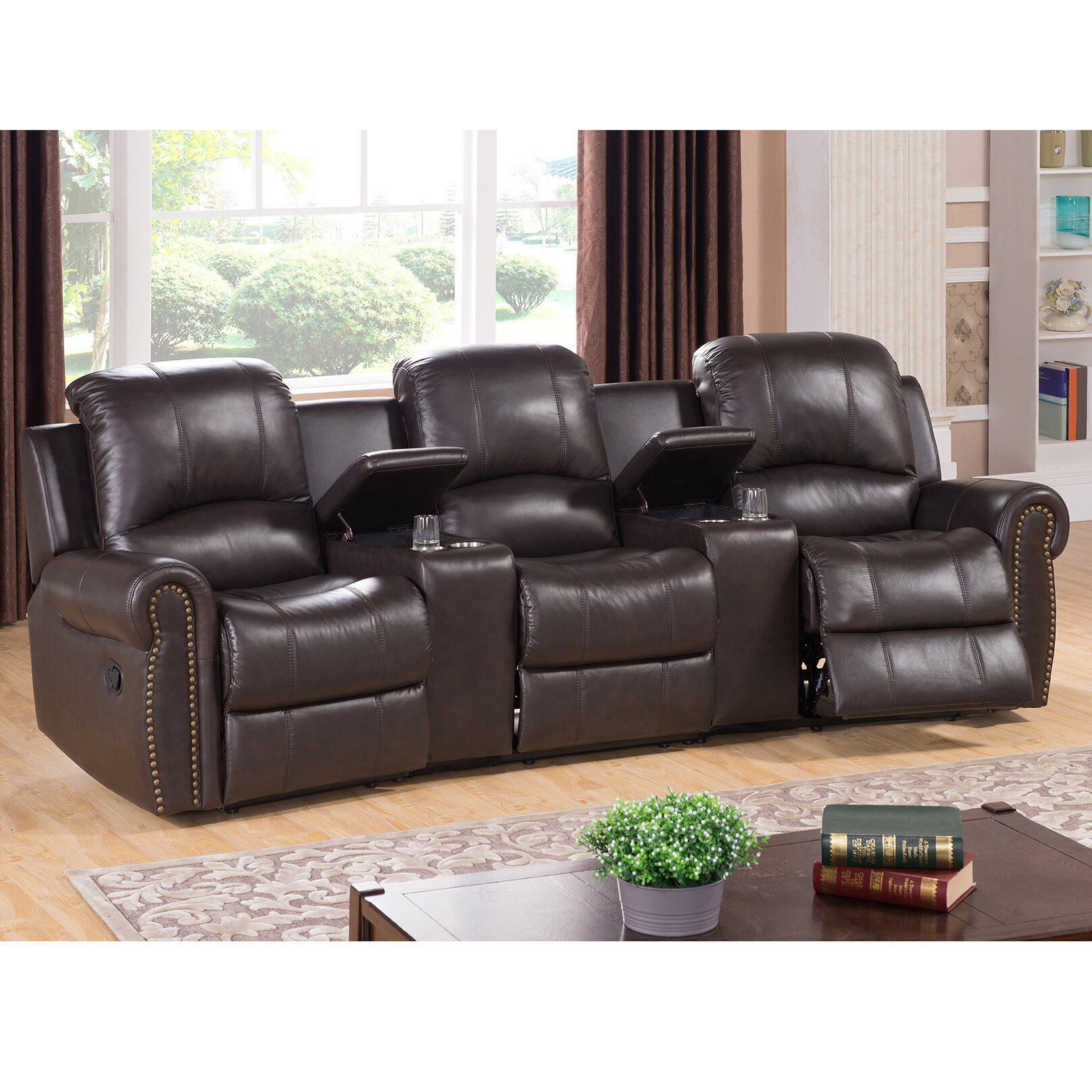 theater group design pin collinsville loveseat signature seating ashley power by recline piece