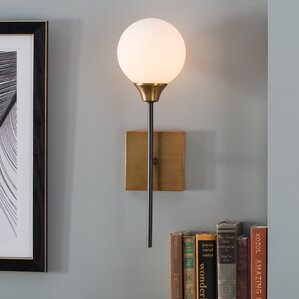 Bautista 1-Light Wall Sconce : light wall sconce - azcodes.com