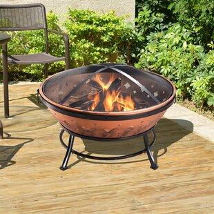 Kerrigan Steel Wood Burning Fire Pit Image