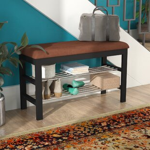 Schantz Wood Storage Bench by Winston Porter