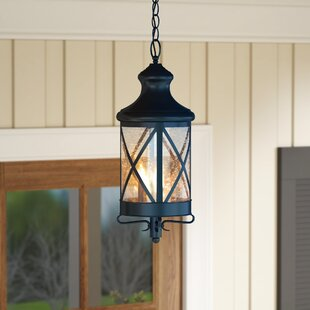 Luqi 3-Light Outdoor Hanging Lantern