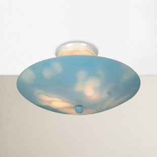Aaliyah 3-Light Semi Flush Mount by Zoomie Kids