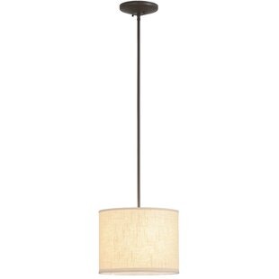 Rosecliff Heights Luyster 1-Light Drum Pendant