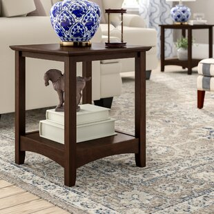 Three Posts Rossendale End Table (Set of 2)