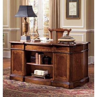 Hooker Furniture Belle Grove Solid Wood Executive Desk