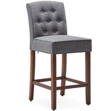 Dreadnaught 27.17 Bar Stool (Set of 2) by Charlton Home®