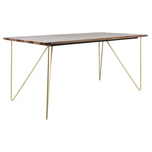 Lissette Solid Wood Dining Table by Wrought Studio Comparison