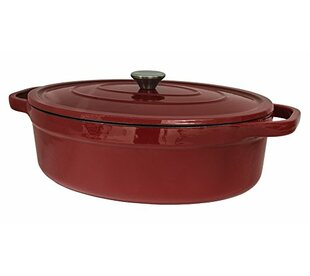 7 Qt. Cast Iron Oval Dutch Oven