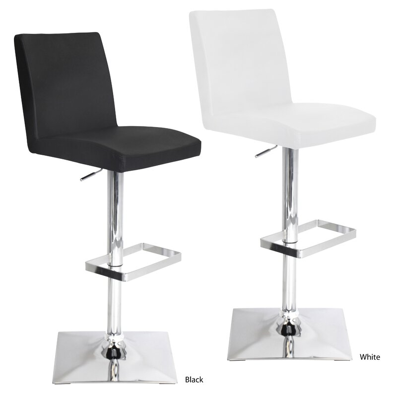 Captain Adjustable Height Swivel Bar Stool  sc 1 st  Wayfair & LumiSource Captain Adjustable Height Swivel Bar Stool u0026 Reviews ... islam-shia.org