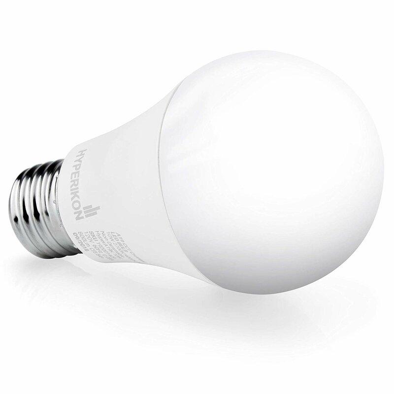 Hyperikon 65 Watt Equivalent A19 Led Non Dimmable Light Bulb E26 Medium Standard Base Wayfair