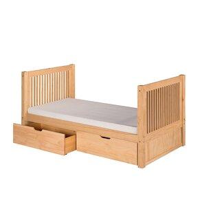 Oakwood Twin Storage Platform Bed by Harriet Bee
