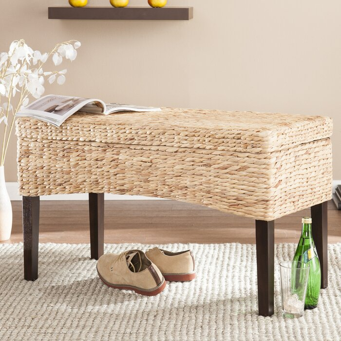 Pleasing Sunni Hyacinth Storage Entryway Bench Short Links Chair Design For Home Short Linksinfo