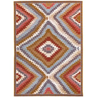 Coronel Anatolia Tan/Orange/Blue Indoor/Outdoor Area Rug