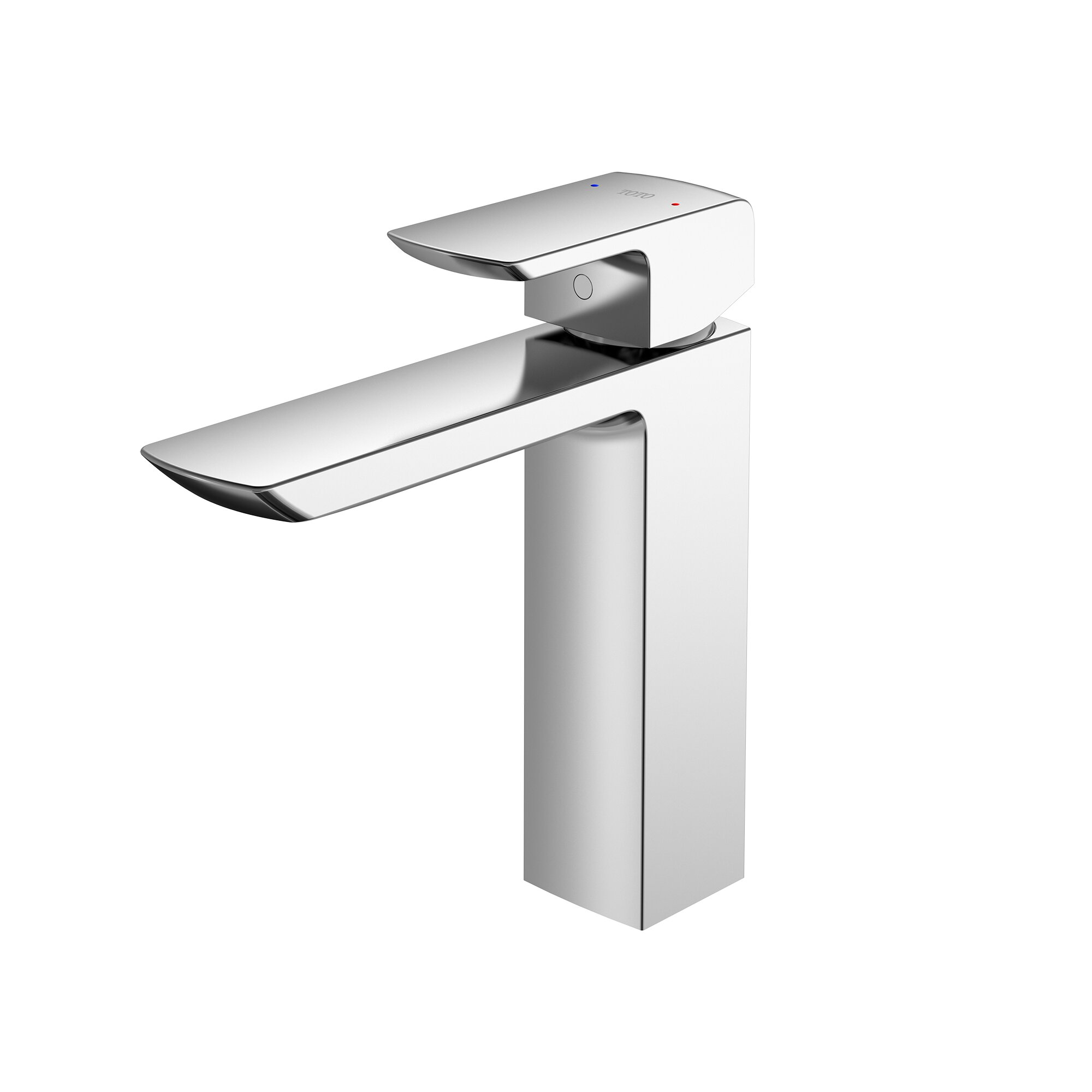 Toto GR Vessel Sink Bathroom Faucet with Drain Assembly and Comfort ...