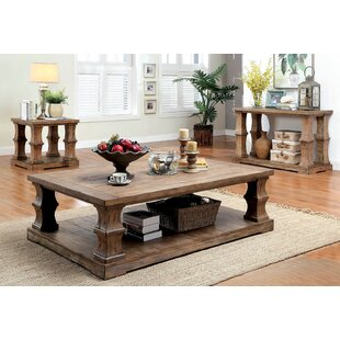 Gracie Oaks Charlotte 3 Piece Coffee Table Set
