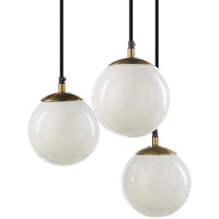 Bocanegra 3-Light Globe Pendant by George Oliver