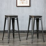Becerra Bar & Counter Stool (Set of 2) by Williston Forge
