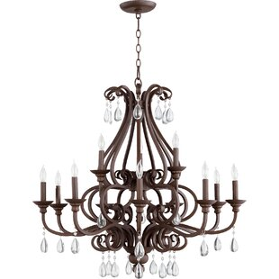 Quorum Anders 12-Light Chandelier
