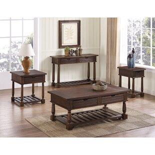 Gracie Oaks Mcclellan 4 Piece Coffee Table Set