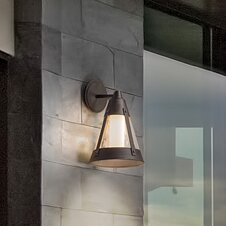Best Price Humphries 1-Light Outdoor Wall Lantern By Longshore Tides