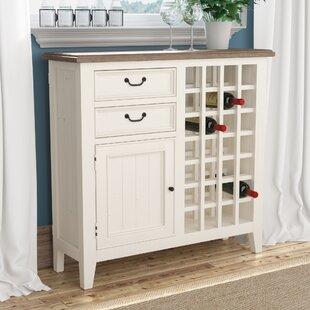 Laurel Foundry Modern Farmhouse Lightfoot Wine Cabinet