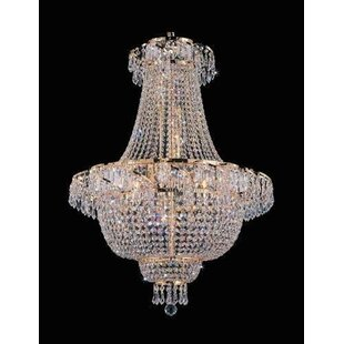 Inexpensive Montana 9-Light Chandelier By House of Hampton