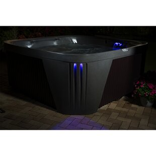 Aquarest Spas, Powered By Jacuzzi® Pumps 6 - Person 45 - Jet Square Plug And Play Hot Tub with Ozonator