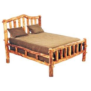 Mountain Woods Furniture Aspen Heirloom Snowload I Platform Bed