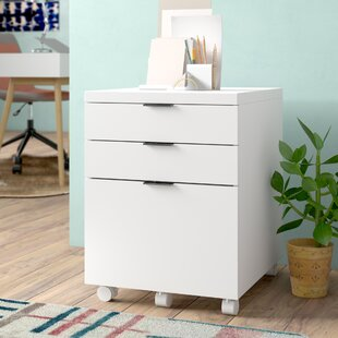 Zolan 3 Drawer Mobile Backert Filing Cabinet