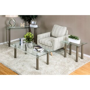 Coupon Hoedus 3 Piece Coffee Table Set ByOrren Ellis