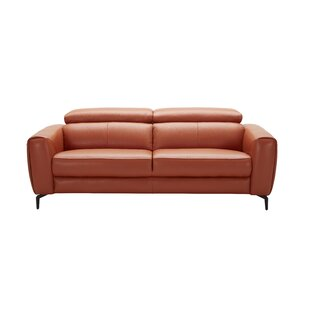 Best Reviews Camptown Leather Sofa by Orren Ellis Reviews (2019) & Buyer's Guide