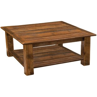barnwood open coffee table - Barn Board Coffee Tables
