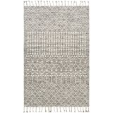 Kass Beige Charcoal Area Rug Wayfair