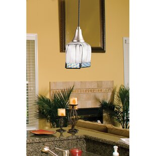 Metro Fusion 1-Light Square/Rectangle Pendant by Meyda Tiffany