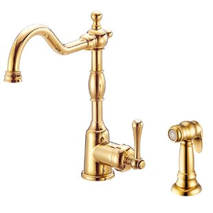 Matte Gold Kitchen Faucet Wayfair - Wayfair kitchen faucets