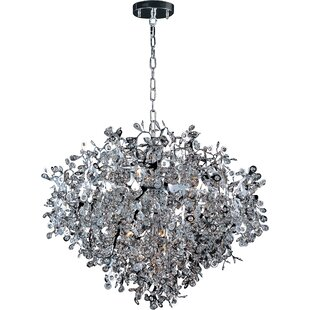 Orren Ellis Leonia 13-Light Crystal Chandelier