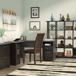 Red Barrel Studio Hillsdale 3-Piece L-Shape Desk Office Suite