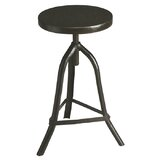Cave Spring Metalworks Adjustable Height Swivel Bar Stool by 17 Stories