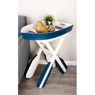 Boat End Table by Cole & Grey