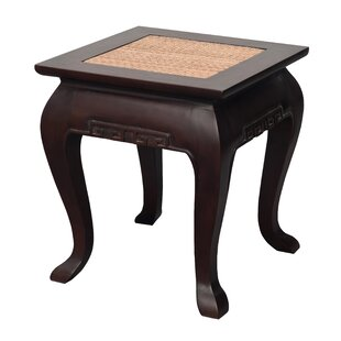 Rousseau End Table by August Grove
