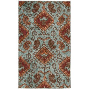 Duarte Aqua Indoor/Outdoor Area Rug