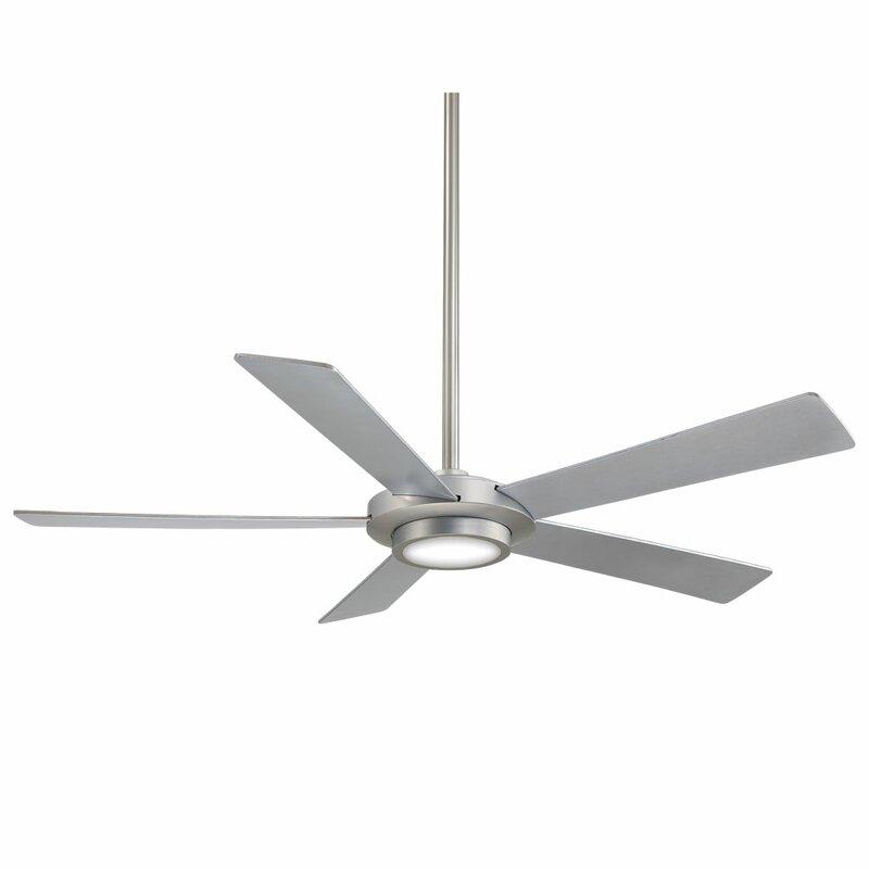 52 Sabot 5 Blade Led Ceiling Fan