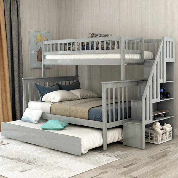 Full Over Queen Bunk Bed With Trundle Cheap Online Shopping