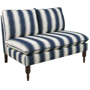 Chesney Armless Loveseat in Jiri by Bungalow Rose